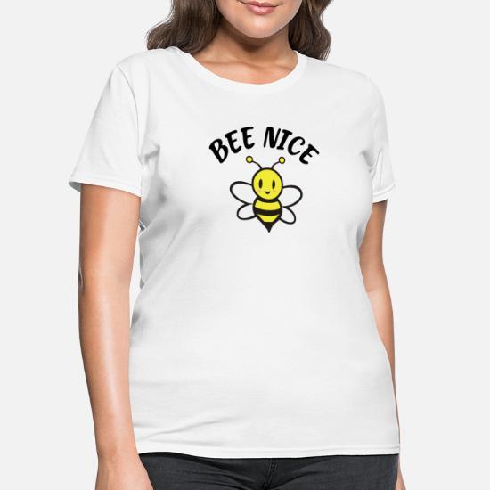 8fe59edeb5 Cute pocket print T-shirt, Bee nice shirt, Women's T-Shirt   Spreadshirt
