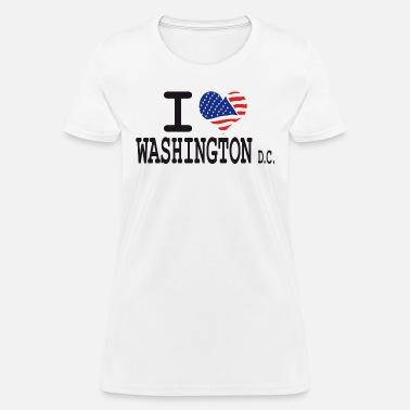 10a844ff6e7b i love washington dc Women's Hoodie | Spreadshirt