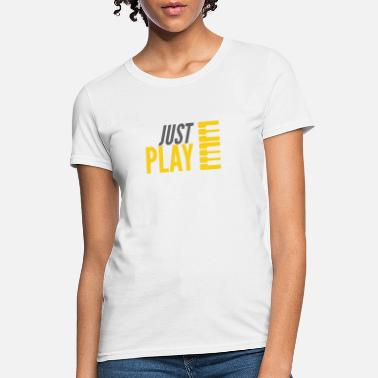 Just Play Keys - Women's T-Shirt