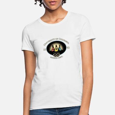 391e5c686b8 University Of Columbia Physics Department T shirt - Women's ...
