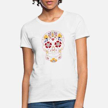 af3a8e8b Day-of-the-dead-skulls-family Day of the Dead Sugar. Women's T-Shirt. Day  of the Dead Sugar Skull Dark