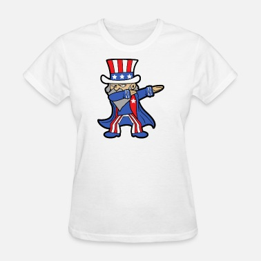 Day Of Prayer And Repentance Dabbing Dab 4th of July Independence Day - Women's T-Shirt
