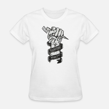 Stop Fighting NEVER STOP TRYING / NEVER STOP FIGHTING - Women's T-Shirt