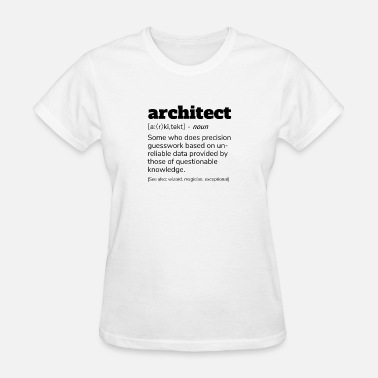 Architecture Wife Architect Definition T-Shirt, Funny Architects - Women's T-Shirt