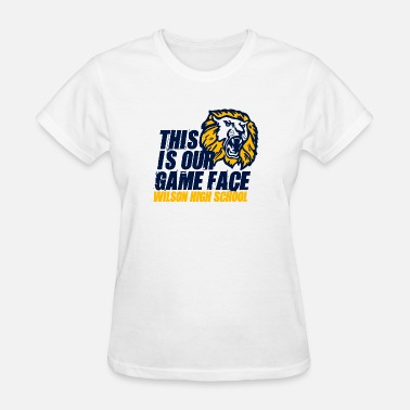 Music In Our Schools This Is Our Game Face Wilson High School - Women's T-Shirt