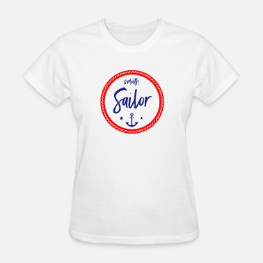 Smooth Sailing Smooth Sailor Rope Anchor - Women's T-Shirt