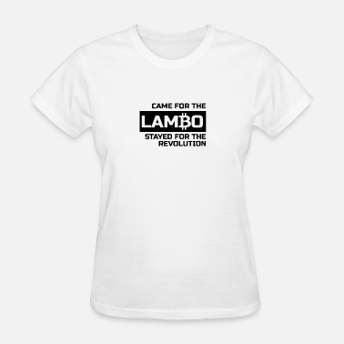 Came On Came for the Lambo - Women's T-Shirt