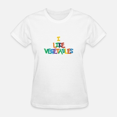 With Vegetables vegetables - Women's T-Shirt