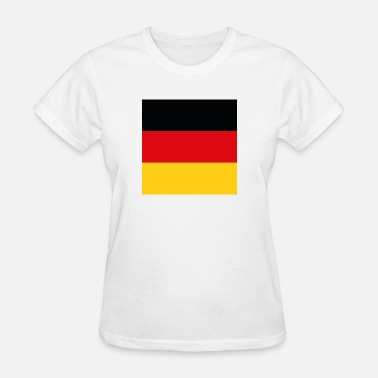 Black And Gold Fans German flag (black / red / gold) - Women's T-Shirt