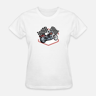60s Car Racing Hot Rod Racing Car / Gift Idea - Women's T-Shirt