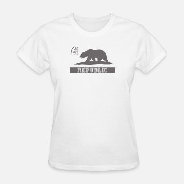 Dope Republic CA Dope California Republic Pride - Women's T-Shirt
