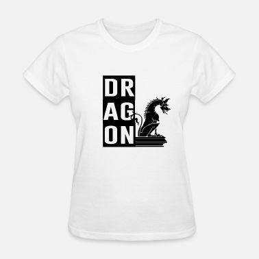 Say What You Want In A White Gift Idea Dragons Amazing Cool Creative Design Tee - Women's T-Shirt