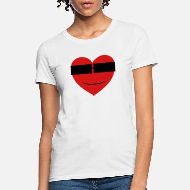 Smiling Heart Smile Heart - Women's T-Shirt