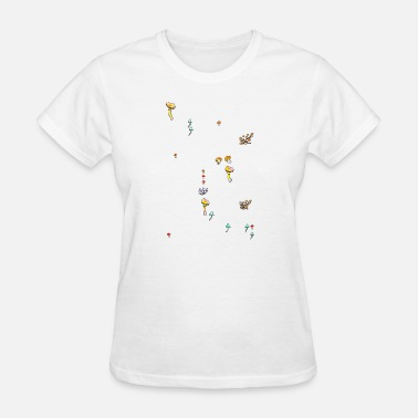 Mushroom Music mushrooms / music / nature - Women's T-Shirt