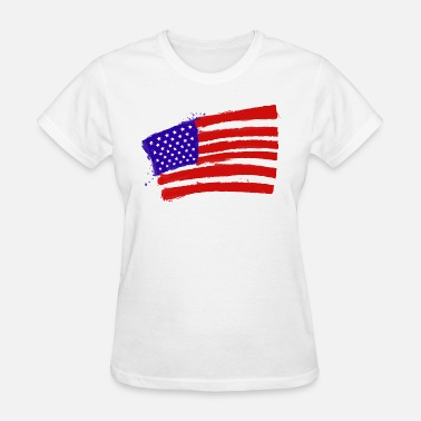 Usa American Flag Jokes USA Flag - Women's T-Shirt