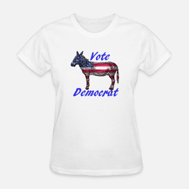 Social Democrat Vote Democrat - Women's T-Shirt