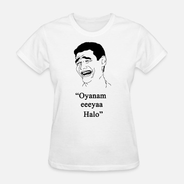 Halo Kids oyanam eeyaa halo germany irish - Women's T-Shirt