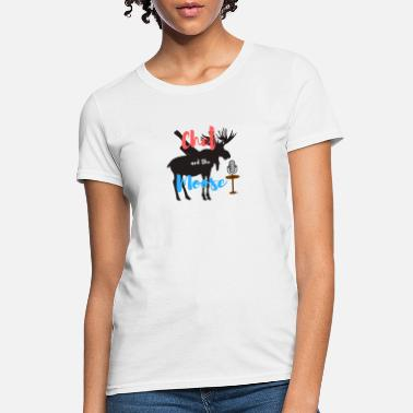 Chef and the Moose - Women's T-Shirt