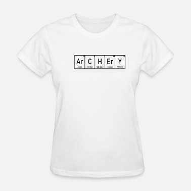 Bow Rider Archery Gift Funny Bow Archer Arrow & Bow - Women's T-Shirt