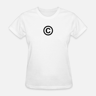 Copyrights © - Copyright - Women's T-Shirt
