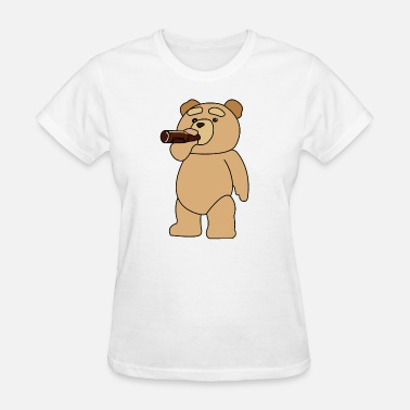 Teds Drinking Ted - Women's T-Shirt