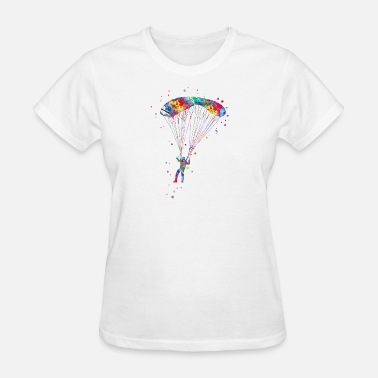 Fly Paragliding Paraglider flying - Women's T-Shirt