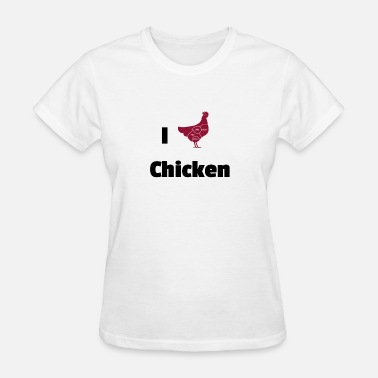 Chicken Coop chicken - Women's T-Shirt