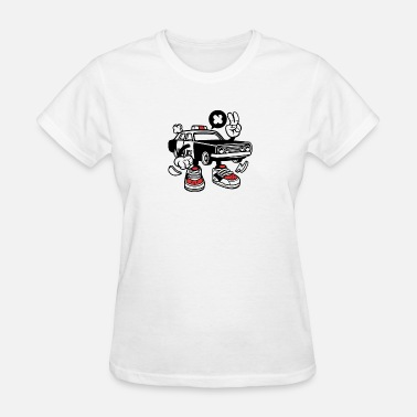 Dope Cars Police Car - Women's T-Shirt