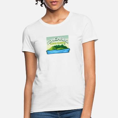 Crosses Tongariro Alpine Crossing - New Zealand - Women's T-Shirt