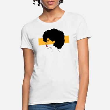 Afro Afro Hair Girl Black Power - Women's T-Shirt