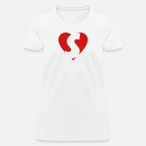 I Love S Heart S Letter S Women S Premium T Shirt Spreadshirt