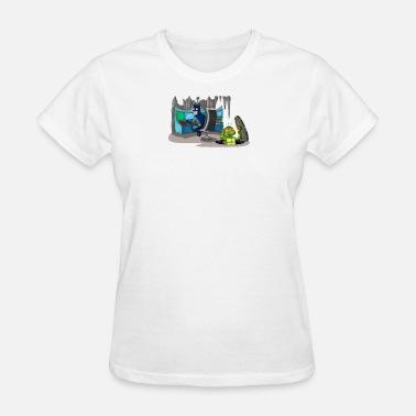 Invaders Gamers Mutant Invader - Women's T-Shirt