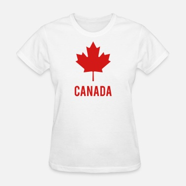 Maple Leaf Canada Logo - Women's T-Shirt