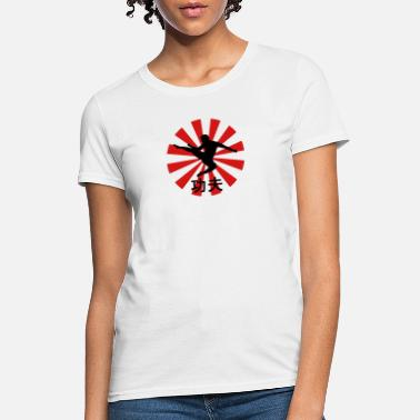 Feet kung fu - Women's T-Shirt