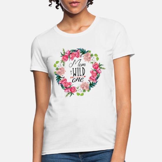 b1ab14f3 Wild One birthday Shirt First Thing Mommy Tee Women's T-Shirt ...