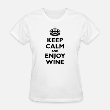 Keep Calm Author Keep calm and enjoy - Women's T-Shirt