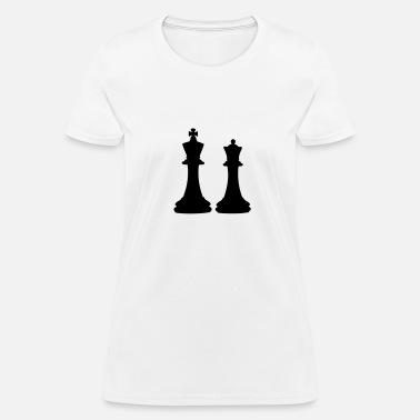 f30844b2 Chess King & Queen Women's Premium T-Shirt | Spreadshirt