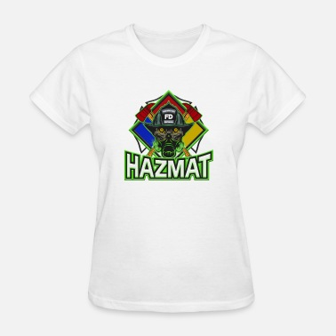 Hazmat Technician Hazmat Technician Firefighter - Women's T-Shirt