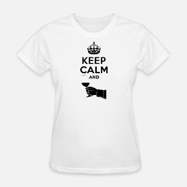 Keep Calm Author keep calm and - Women's T-Shirt