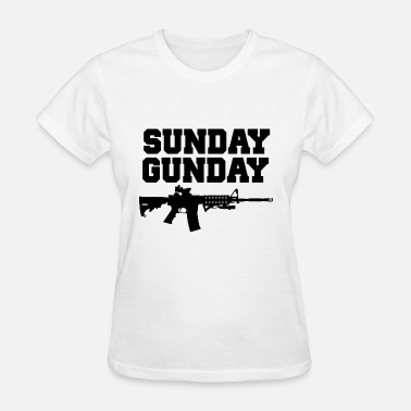 sunday patriotic t shirts - Women's T-Shirt