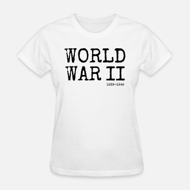 Veteran World War 2 World War II 1939-1945 (Black) - Women's T-Shirt