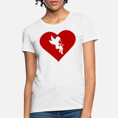 Middle Of The Week Cupid in the Middle - Women's T-Shirt