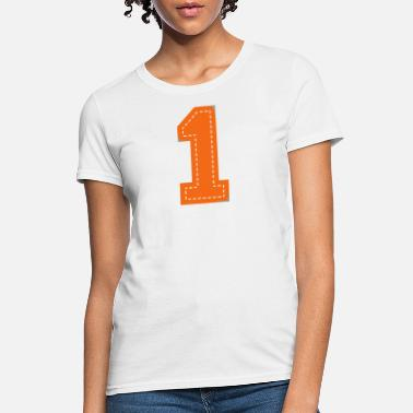 Jock Number One Patch - Women's T-Shirt