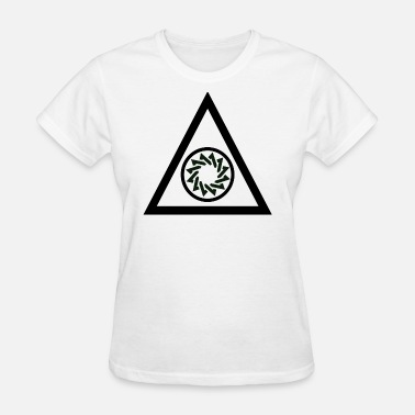 Triangle Circle triangle circle - Women's T-Shirt