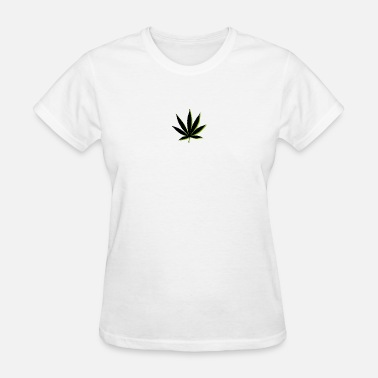 Weed Symbols weed symbol drawing leaf - Women's T-Shirt