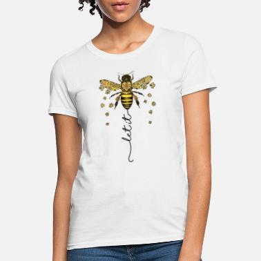 Let let it bee let it be bee shirt hippie bee tee - Women's T-Shirt