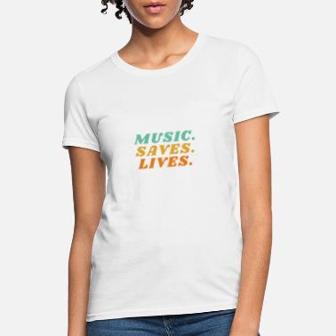 Miguel Music Saves Lives - Women's T-Shirt