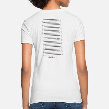 Check Length-Check-Shirt - Women's T-Shirt