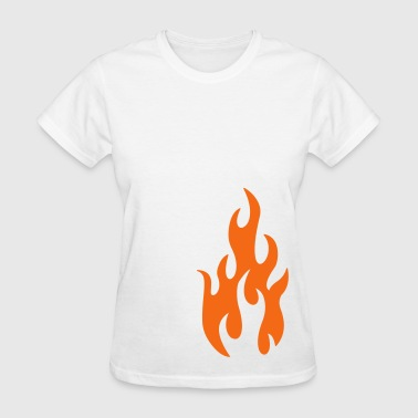 flames 1 - Women's T-Shirt