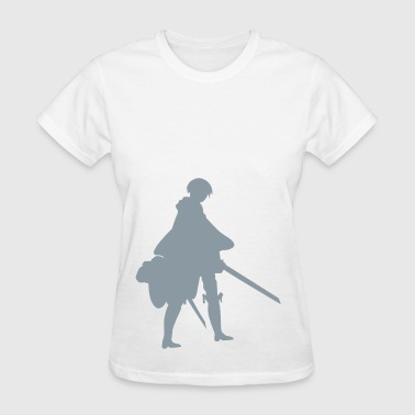 Captain Levi Shingeki no Kyojin - Women's T-Shirt